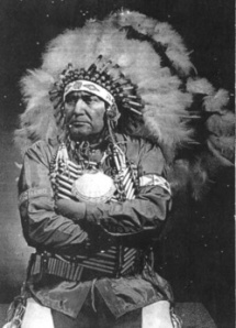 Chief Clarence Lobo (d. 1985), Juaneno Tribe